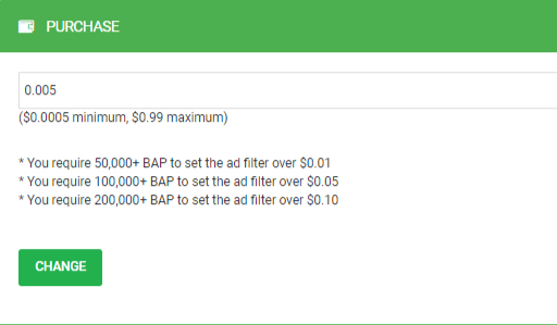 Filter ads with Paidverts ad filter